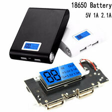 Dual USB 5V 1A 2.1A Mobile Power Bank 18650 Battery PCB Module Charger Board-