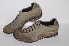 Skechers Bikers Casual Shoes #21468 Olive/Brown Women's US Size 9