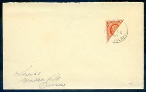 Channel Islands, Guernsey 1934 2d bisect on cover fine condition (2020/05/21#02)