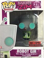 Funko Pop! Robot Gir Invader ZIM Nickelodeon Television Hot Topic Exclusive