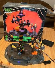 Lemax Spooky Town Animated Broom Dealership, 2011 retired #14326