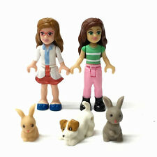 MEGA BLOKS My Life As Pet Vet mini doll figure & pets Puppy/Rabbit building toy