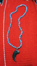 Halskette Bärenkralle Polyresin Replik Indianer Bär Necklace Bearclaw Kralle 22
