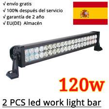 2X120W LED barra de luz faro de trabajo FOCO Offroad 12V/24V Proyector SUV UTE