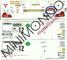 DECALS MITSUBISHI LANCER EVO 6 ULTRON RALLY PIANCAVALLO 1999 1/43 RACING43