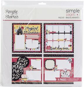 Simple Stories Simple Pages Page Kit-Magical Memories
