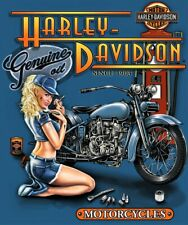 Harley Davidson Motor Oil  Poster  18 inch x 24 inch