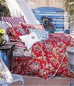 RARE NWT Ralph Lauren Belle Harbor Floral Queen Comforter Set French Country 10P