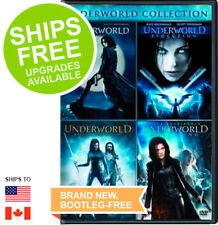 Underworld Collection, Evolution, Rise of the Lycans, Awakening (DVD, 2016)