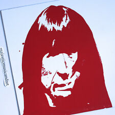 SPENCER SWEENY RED ART COVER HAND SCREEN PRINTED LTD 400 ENDLESS BOOGIE VINYL LP
