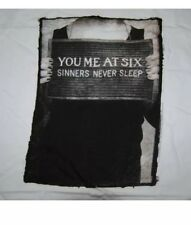 YOU ME AT SIX SINNERS NEVER SLEEP NEW T SHIRT XL