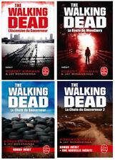 THE WALKING DEAD 4 romans éditions Livre de Poche