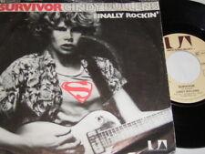 """7"""" - Survivor Cindy Bullens & Finally Rockin - 1979 # 4506"""