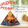 Orgonite Pyramid Chakra Multiplier Reiki Orgone Energy Healing Peridot  !