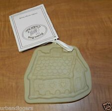 8034/ Brown Bag Cookie Art Mold Gingerbread House ~Beeswax Chocolate NEW w TAGS