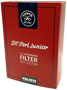 Dr. Perl 9mm Activated Carbon Pipe Filters (Pack of 100)