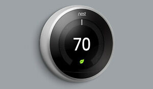 COMPLETE KIT: Google Nest 3rd Generation Learning Thermostat -> Choose Color %
