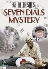 Agatha Christie'S SEVEN Dials Mistero DVD John GIELGUD valgono lenska UK Rel NUOVO R2
