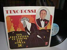 33 TOURS / LP--TINO ROSSI--LES PLUS BELLES CHANSONS DES ANNEES 30--1974