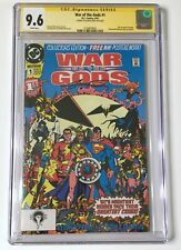 WAR OF THE GODS #1 CGC SS 9.6 Signed by George Perez 9.6 WP