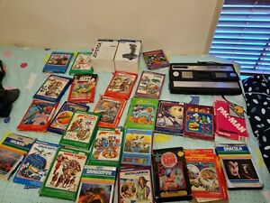 Intellivision system III with 27 games inc Pacman, Sewer Sam, Donkey Kong, Tron