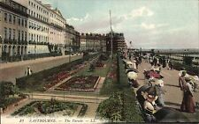 Eastbourne. The Parade # 19 by LL / Levy. Coloured.
