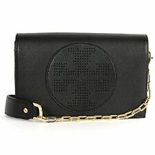 Tory Burch Kipp Cross Body Bag Black New