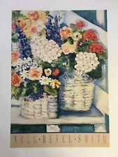 Nell Revel Smith - Summer Flower - 1980s - Offset Poster
