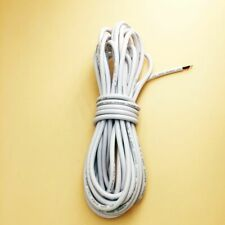 Electrical Cables Equipment Insulated White Extension Wires 2 Pin Tinned Coppers