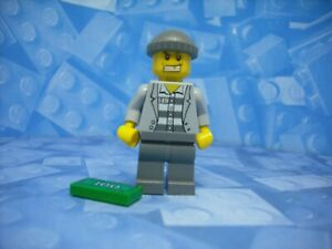 Lego - City - Robber - Minifigure
