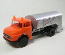 1/87 Brekina MB 322 Camión de basura barridos vuestro aceras Naranja/plata 47010