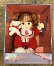 Mattel My Child Doll Copper Red Hair Aqua Eyes 1985