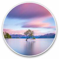 2 x Vinyl Stickers 15cm - Wanaka New Zealand Travel Cool Gift #2743