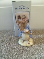 Royal Albert Beatrix Potter - GENTLEMAN MOUSE TAKES A BOW Boxed New