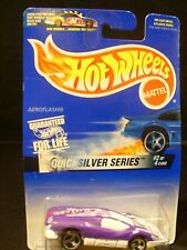 Hot Wheels 1996 Silver Bullet-#2 of 4 in the Quicksilver Series MOC