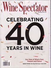Wine Spectator November 15 2016 40th Anniversary Issue w/ML 013117DBE3