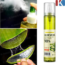 ALOE VERA Moisturizers Aloe Vera Soothing gel Mist 98% 120ml / Korean Cosmetics