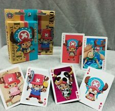 One Piece Tony Chopper Cosplay Playing Cards Funny Table Game Paper Poker Cards