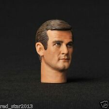 1/6 Scale HEADPLay 007 James Bond Sir Roger George Moore Man Male Head Figure
