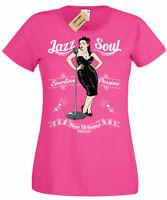 Jazz Soul T-Shirt New Orleans Womens Ladies