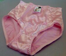 "Women Panties,Briefs,Control Panties ""Ann Diane"" Size L. Large Pink Satin"