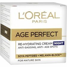 L'OREAL AGE PERFECT RE-HYDRATING NIGHT CREAM - 50ML