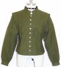 CHRISTAMODEN / GREEN ~ BOILED WOOL German Winter WARM Walk Dress JACKET / 10 M