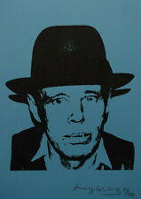 Limited edition fine POP ART Portrait Silkscreen Andy Warhol signed & stamped