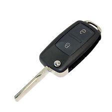 Folding Flip Key FOB Shell Case for VW Polo, Golf MK4, Seat Ibiza 2001-2006