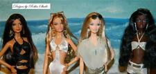 On Location by Robert Best~Model Muse Barbies~2005~06~All 4 Dolls in Swimsuits