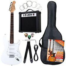 Rocktile 00036282 Set complet Guitare Électrique blanche