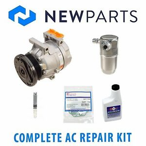 For Buick Century 99-05 Complete AC A/C Repair Kit with NEW Compressor & Clutch