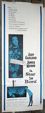 A STAR IS BORN original 14x36 insert movie poster JUDY GARLAND/JAMES MASON