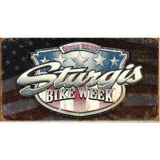 Vintage Replica Tin Metal Sign Sturgis Bike south dakota hd harley davidson 1397